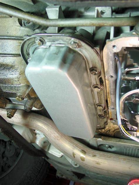 bmw   series automatic transmission fluid change