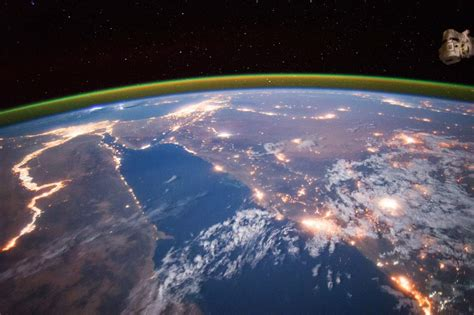 Top Ten Most Beautiful Earth Images Taken From The