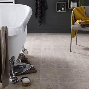 Dalle Vinyle Carreau De Ciment : dalle stratifi e effet carreaux ciment ep 8 mm novofloor ~ Premium-room.com Idées de Décoration