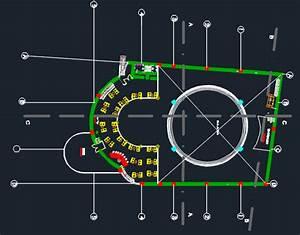 Nightclub Bar  U0026 Disco 2d Dwg Design Plan For Autocad  U2013 Designs Cad