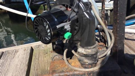 Boat Lift Blower by Diy Changing Boat Lift Blower Motor
