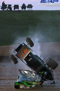 410 Winged Sprint Cars Crashes