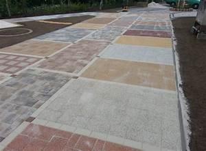 Pokládka zámkové dlažby na stary beton