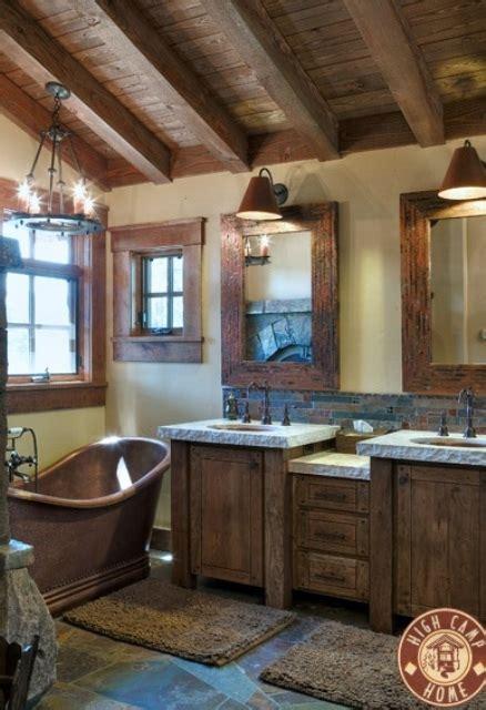 ideas for rustic bathrooms 44 rustic barn bathroom design ideas digsdigs