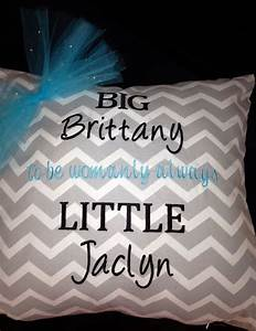 big little custom embroidered sorority pillow you choose With custom greek stitched letters