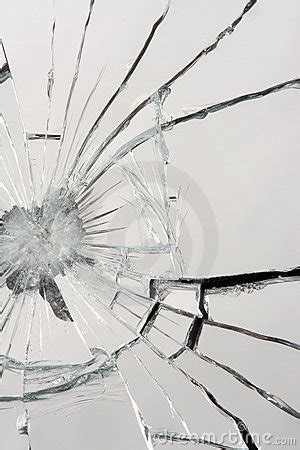 broken mirror stock  image