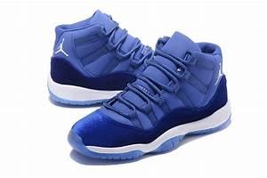 2017 Air Jordan 11 Velvet Royal Blue-White | Jordans 2017