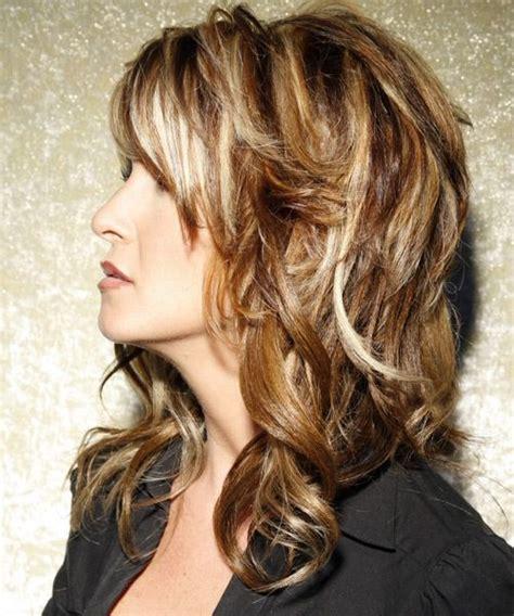 long hairstyle wavy casual medium brunette