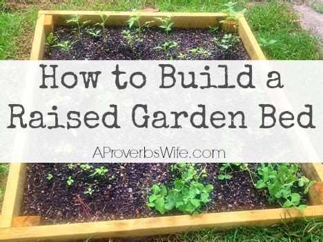 how to build a raised garden bed with legs how to build a raised vegetable box