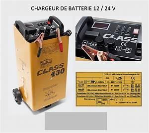 Booster Batterie Voiture : chargeur de batterie voiture camping car camion 12v 24v ~ Medecine-chirurgie-esthetiques.com Avis de Voitures