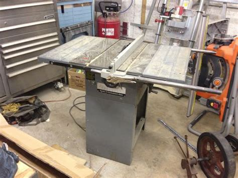 rockwell model 9 table saw rockwell model 10 contractors table saw 100 by
