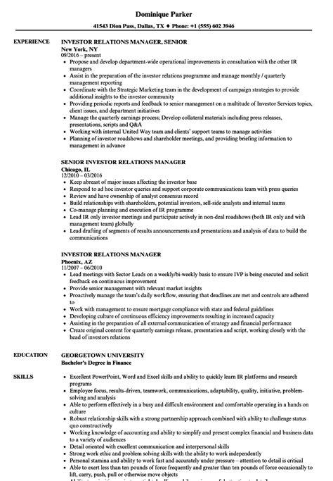 19644 relations resume template investor relations resume annecarolynbird