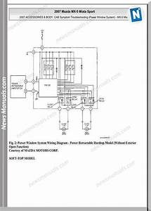 Mazda Mx 5 Workshop Wiring Diagram