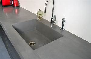 evier de delicacies en beton cire all home decors With beton cire pour terrasse exterieur
