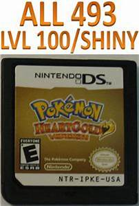 Pokemon Heart Gold Game Unlocked for DS DSI HeartGold | eBay
