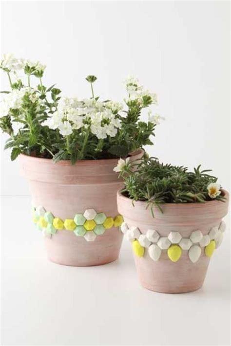 pot plant design idea diy creative ways to decorate flower pots