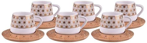 All categories amazon devices amazon fashion amazon global store appliances automotive parts & accessories baby beauty & personal care books computer & accessories electronics gift double walled cup glasses for espresso coffee and turkish coffee 80ml set of 6pcs. Amazon.com | Alisveristime 12 Pc Turkish Greek Arabic Coffee Espresso Cup Saucer Porcelain Set ...
