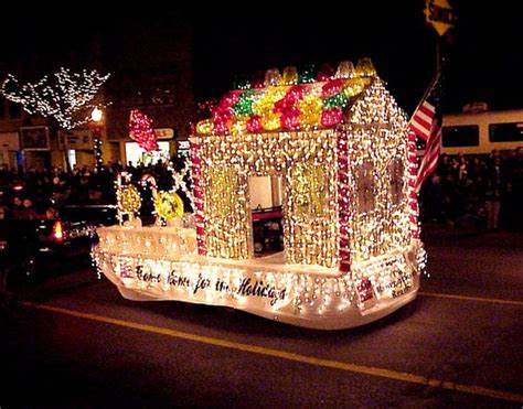 lighted christmas parade ideas home and lights on