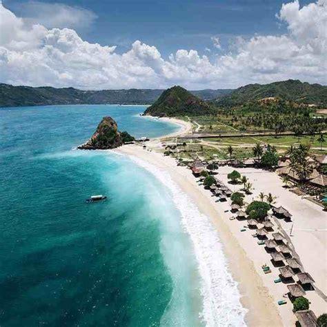 mandalika primadona  lombok  sekelas pulau dewata