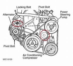 1998 Dodge Neon Belt Tensioner Engine Mechanical Problem