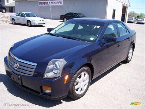 Cadillac Cts Blue by 2005 Blue Chip Cadillac Cts Sedan 9324748 Gtcarlot