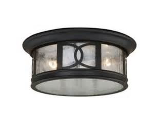 sterling 2 light 12 quot forged bronze outdoor ceiling light