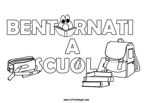 immagini di bambini a scuola primaria cartello con scritta bentornati a scuola tuttodisegni