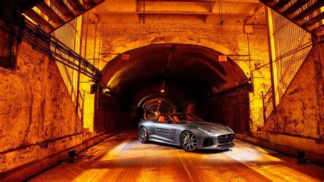 jaguar  type svr park avenue tunnel wallpaper hd