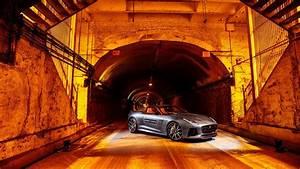 2016 Jaguar F Type SVR Park Avenue Tunnel Wallpaper HD