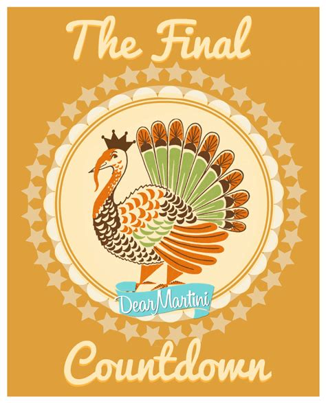 thanksgiving countdown how to carve a turkey dear martini