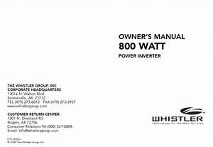 800 Watt Power Inverter Manuals