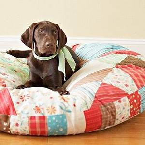 dog bed for big dog cute ribbon With cute big dog beds