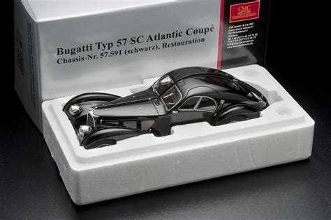 What Type Of Engine Does A Bugatti by Bugatti Type 57 Atlantic Cmc 1 18 Scale Special Offer