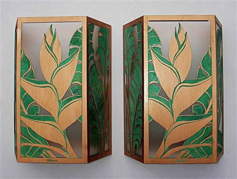 tropical wall sconces heliconia small sconces tropical wall sconces hawaii