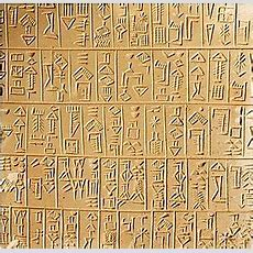 Sumeriangrammarlesson Nine  Cuneiform  Wikibooks, Open Books For An Open World