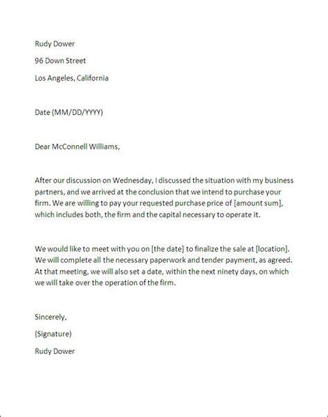 letter  intent sample