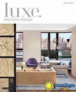 luxe interior design magazine new york edition winter With interior design home edition