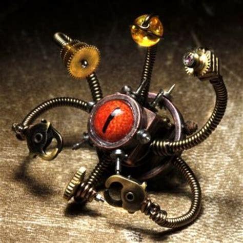 steampunk dd beholder sculpture boing boing