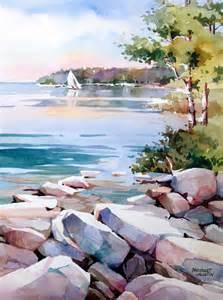Bridget Austin Watercolor Paintings