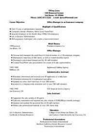 my resume objective resume
