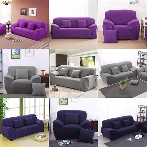 settee covers removable 1 2 3 seater stretch elastic fitted sofa lounge