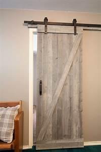 diy sliding barn door With darn door