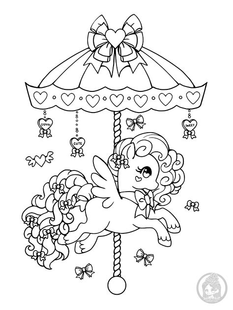 Ponies - Pony Coloring Pages • YamPuff's Stuff