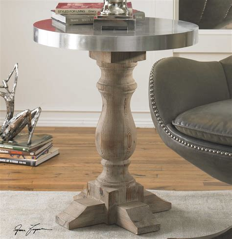 Uttermost Table - uttermost martel 24 accent table ut24323