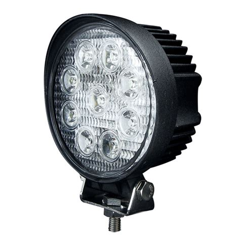 6 inch round led offroad lights 2x 27w 4 inch round spot led work light offroad boat 4x4