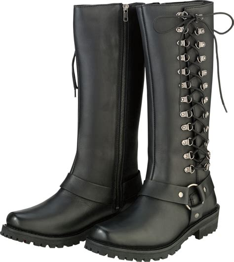 boots to ride motorcycle z1r womens savage waterproof leather motorcycle riding