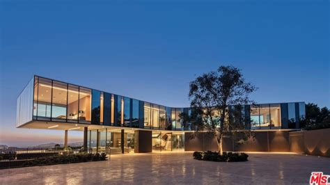 Hilltop Home In Bel Air by 56 Million Newly Built Modern Hilltop Mansion In Bel Air