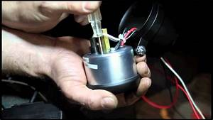 Auto Meter Diesel Tachometers Connected To The Alternator