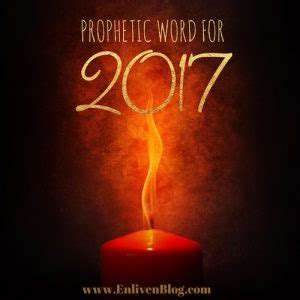 Prophetic Word For 2017