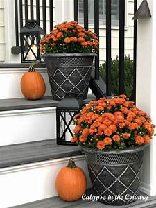 Ideas, For, Fall, Outdoor, Decorating